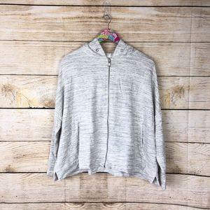 Lou & Grey Zip up hoodie size L